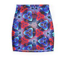 Colored Disc Mini Skirt