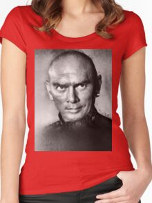 Yul Brynner by John Springfield Women's Fitted Scoop T-Shirt