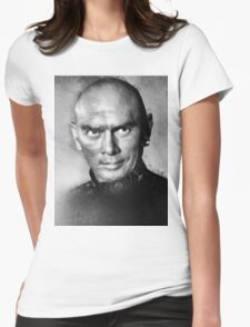 Yul Brynner by John Springfield Womens Fitted T-Shirt
