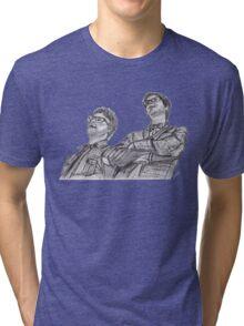 Public Service Broadcasting Tri-blend T-Shirt
