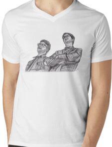 Public Service Broadcasting Mens V-Neck T-Shirt