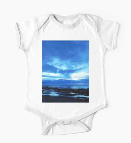 Arm from Above Plays with the Sunset One Piece - Short Sleeve