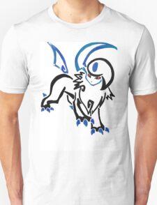 Pokemon Absol - tribal Unisex T-Shirt