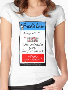Fred's Law 1 Women's Fitted Scoop T-Shirt