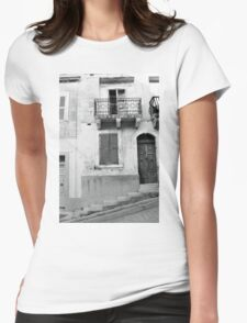 Abandoned Womens Fitted T-Shirt