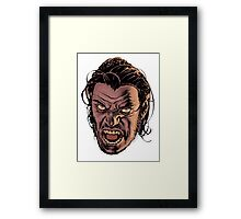 bigby wolf - from fables/ the wolf among us Framed Print