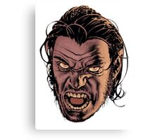 bigby wolf - from fables/ the wolf among us Canvas Print