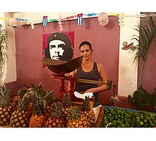 Cuba - Cienfuegos - Che quita Photographic Print