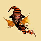 Cute Halloween Witch  by LoneAngel