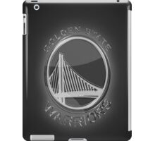 Golden State Warriors Silver Glow iPad Case/Skin
