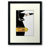 The adventures of sherlock holmes Framed Print