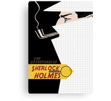 The adventures of sherlock holmes Canvas Print