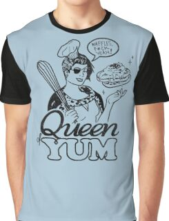 Queen of Yum Graphic T-Shirt