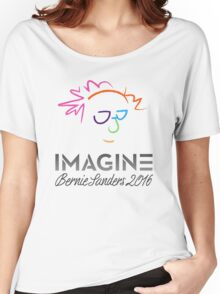 Imagine Bernie Shirt and Fundraising Gear Women's Relaxed Fit T-Shirt