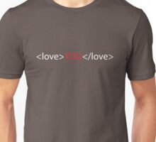 Love you 02 Unisex T-Shirt