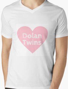 Dolan Twins heart Mens V-Neck T-Shirt