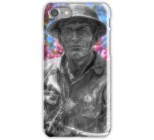 World War I Buddy Monument Statue iPhone Case/Skin