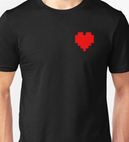 Broken Pixel - Determined Pixel Heart Unisex T-Shirt