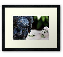 Snow Angel Whisperer Framed Print