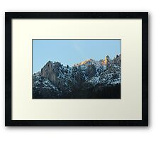 Castle Crags - northern California Framed Print