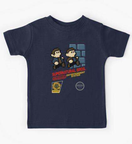 Supernatural Bros. Box Art Kids Tee