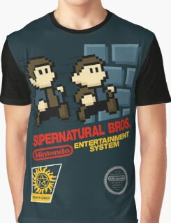 Supernatural Bros. Box Art Graphic T-Shirt