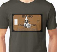 Zombie Hunting Permit - IDAHO Unisex T-Shirt