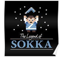 The Legend of Sokka Poster