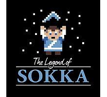The Legend of Sokka Photographic Print
