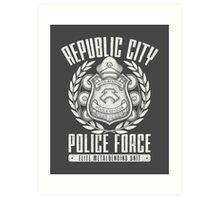 Avatar Republic City Police Force Art Print