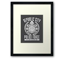 Avatar Republic City Police Force Framed Print