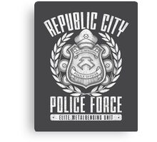 Avatar Republic City Police Force Canvas Print