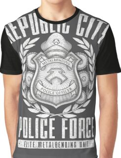 Avatar Republic City Police Force Graphic T-Shirt