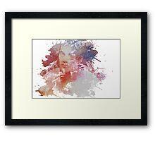 Darren Criss - Watercolor Framed Print