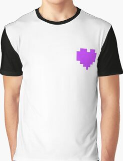 Broken Pixel - Perseverance Pixel Heart Graphic T-Shirt