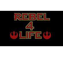 Rebel Alliance: Rebel 4 life Photographic Print