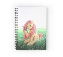 Nature Fluttershy Spiral Notebook