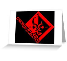 Metal Gear Rising - Desperado Enforcement Greeting Card