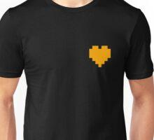 Broken Pixel - Bravery Pixel Heart Unisex T-Shirt