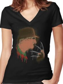 Freddy Women's Fitted V-Neck T-Shirt