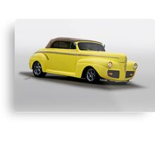 1941 Ford Convertible Coupe Metal Print