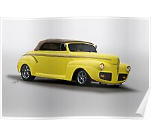 1941 Ford Convertible Coupe Poster