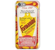 Vintage Formamint Medical Tablets Advertisement iPhone Case/Skin