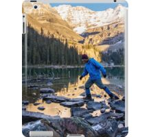 Sid Skipping Over Lake OHara iPad Case/Skin