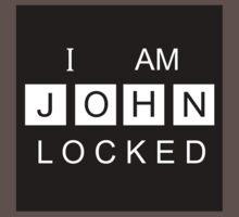 I AM JOHNLOCKED Print One Piece - Short Sleeve