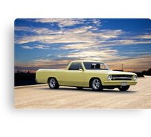 1965 Chevrolet El Camino 'Mild Custom' Canvas Print