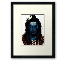 Shiva Framed Print
