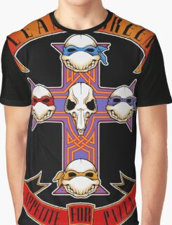 Appetite for Pizza Graphic T-Shirt