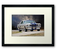 1966 Ford Mustang GT350 Coupe Framed Print