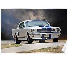 1966 Ford Mustang GT350 Coupe Poster